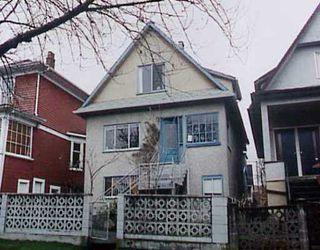 Main Photo: 1817 E 3RD AV in : Grandview VE House for sale : MLS®# V183104