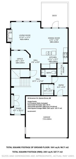 Photo 2: 25 GOVERNOR Circle: Spruce Grove House for sale : MLS®# E4180687