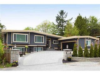 Photo 1: 1766 OTTAWA Place in West Vancouver: Home for sale : MLS®# V887090