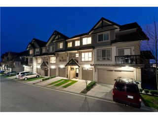 """Photo 1: 26 1362 PURCELL Drive in Coquitlam: Westwood Plateau Townhouse for sale in """"WHITETAIL LANE"""" : MLS®# V944428"""