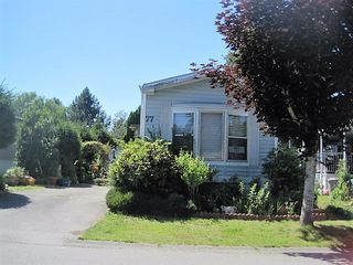 Photo 1: 77 145 KING EDWARD STREET in Coquitlam: Cape Horn Manufactured Home for sale : MLS®# R2085950
