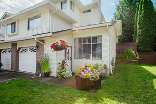 "Photo 1: 17 22900 126 Avenue in Maple Ridge: East Central Townhouse for sale in ""COHO CREEK ESTATES"" : MLS®# R2482443"