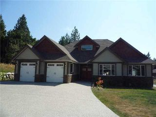 Photo 1: 5005 BAY RD in Sechelt: Sechelt District House for sale (Sunshine Coast)  : MLS®# V928210