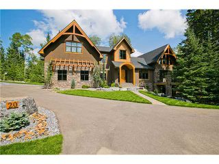Main Photo: 20 Wintergreen Way in BRAGG CREEK: Rural Rocky View MD Residential Detached Single Family for sale : MLS®# C3537055