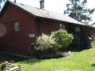 "Main Photo: 4557 STALASHEN Drive in Sechelt: Sechelt District House for sale in ""TSAWCOME"" (Sunshine Coast)  : MLS®# V1002044"