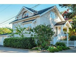 Photo 1: 1760 BLENHEIM ST in Vancouver: Kitsilano House for sale (Vancouver West)  : MLS®# V1092842