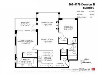 Photo 20: 502 4178 DAWSON STREET in Burnaby: Brentwood Park Condo for sale (Burnaby North)  : MLS®# R2062266