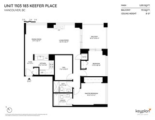 "Photo 17: 1103 183 KEEFER Place in Vancouver: Downtown VW Condo for sale in ""Paris Place"" (Vancouver West)  : MLS®# R2407377"