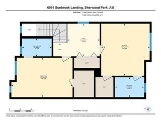 Photo 42: 6061 Sunbrook Landing: Sherwood Park House Half Duplex for sale : MLS®# E4218875