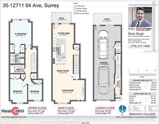 Photo 2: 35 12711 64 Avenue in Surrey: West Newton Townhouse for sale : MLS®# R2528163