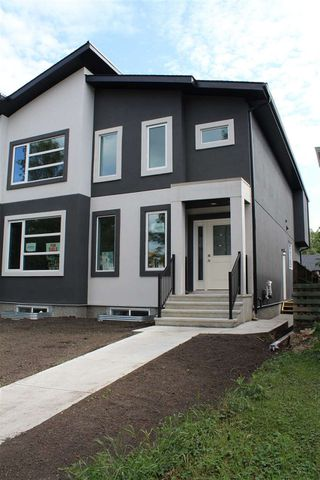 Main Photo: 6719 106 Street in Edmonton: Zone 15 House Half Duplex for sale : MLS®# E4171362