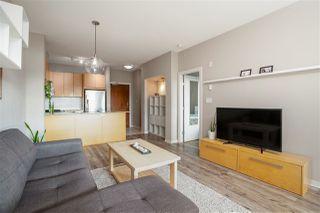 "Photo 3: 406 5889 IRMIN Street in Burnaby: Metrotown Condo for sale in ""MACPHERSON WALK"" (Burnaby South)  : MLS®# R2494450"