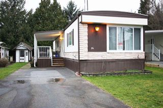 "Photo 1: 96 27111 0 Avenue in Langley: Aldergrove Langley Manufactured Home for sale in ""Pioneer Park"" : MLS®# R2433211"
