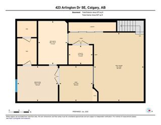 Photo 42: 423 Arlington Drive SE in Calgary: Acadia Detached for sale : MLS®# C4287515