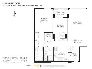"""Photo 19: 204 7040 GRANVILLE Avenue in Richmond: Brighouse South Condo for sale in """"PANORAMA PLACE"""" : MLS®# R2390915"""