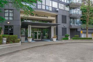 "Photo 2: 1107 10899 UNIVERSITY Drive in Surrey: Whalley Condo for sale in ""Observatory"" (North Surrey)  : MLS®# R2401934"