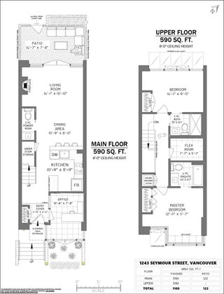 """Photo 40: 1243 SEYMOUR Street in Vancouver: Downtown VW Townhouse for sale in """"elan"""" (Vancouver West)  : MLS®# R2519042"""