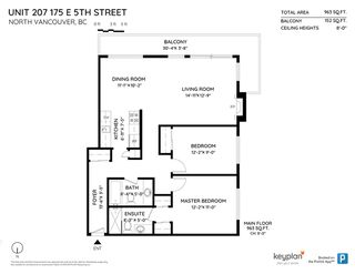 Photo 15: 207 175 E 5TH STREET in North Vancouver: Lower Lonsdale Condo for sale : MLS®# R2413034