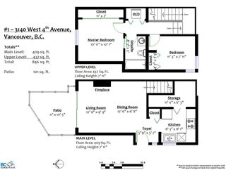 """Photo 18: 1 3140 W 4TH Avenue in Vancouver: Kitsilano Townhouse for sale in """"AVANTI"""" (Vancouver West)  : MLS®# R2468678"""