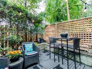 """Photo 5: 1 3140 W 4TH Avenue in Vancouver: Kitsilano Townhouse for sale in """"AVANTI"""" (Vancouver West)  : MLS®# R2468678"""