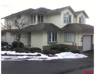 Photo 1: 3222 IMMEL Street in Abbotsford: Abbotsford East Townhouse for sale : MLS®# F2701134