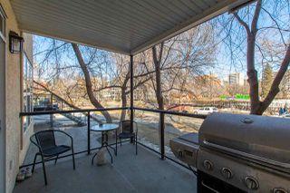 Photo 23: 113 9828 112 Street in Edmonton: Zone 12 Condo for sale : MLS®# E4212104