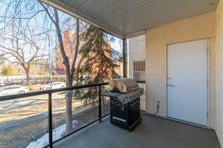 Photo 26: 113 9828 112 Street in Edmonton: Zone 12 Condo for sale : MLS®# E4212104