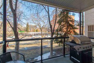 Photo 24: 113 9828 112 Street in Edmonton: Zone 12 Condo for sale : MLS®# E4212104