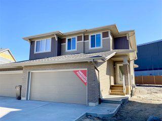 Photo 1: 38 JUNEAU Way: St. Albert House Half Duplex for sale : MLS®# E4196049