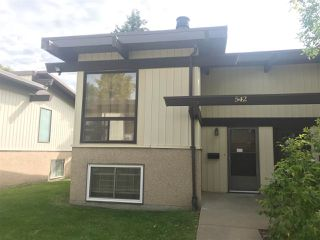 Photo 1: 542 LEE_RIDGE Road in Edmonton: Zone 29 House Half Duplex for sale : MLS®# E4212686