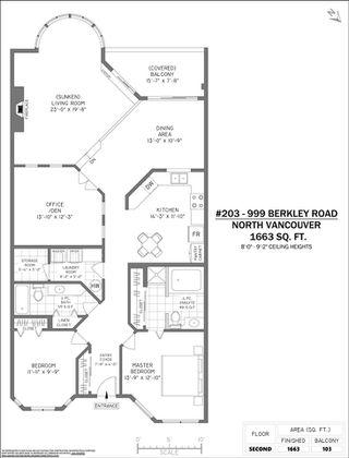 """Photo 27: 203 999 BERKLEY Road in North Vancouver: Blueridge NV Condo for sale in """"Berkley Terraces"""" : MLS®# R2518295"""