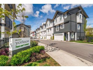 """Main Photo: 74 7665 209 Street in Langley: Willoughby Heights Townhouse for sale in """"ARCHSTONE - YORKSON"""" : MLS®# R2459892"""