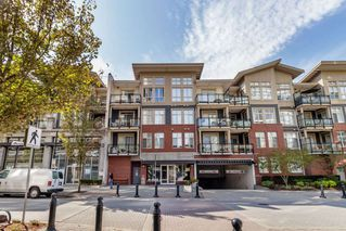 "Photo 1: 105 101 MORRISSEY Road in Port Moody: Port Moody Centre Condo for sale in ""LIBRA"" : MLS®# R2403094"