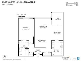 "Photo 20: 310 2101 MCMULLEN Avenue in Vancouver: Quilchena Condo for sale in ""Arbutus Village"" (Vancouver West)  : MLS®# R2478885"
