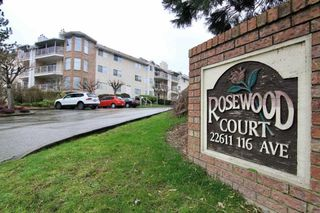 """Main Photo: 322 22611 116 Avenue in Maple Ridge: East Central Condo for sale in """"ROSEWOOD COURT"""" : MLS®# R2441861"""