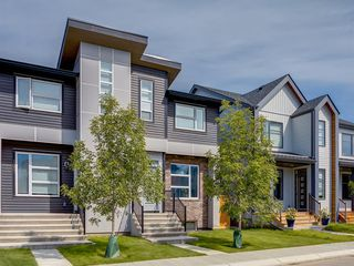 Main Photo: 105 Seton Terrace SE in Calgary: Seton Semi Detached for sale : MLS®# A1009994