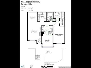 """Photo 4: 102 7038 21ST Avenue in Burnaby: Highgate Townhouse for sale in """"Ashbury"""" (Burnaby South)  : MLS®# R2490267"""