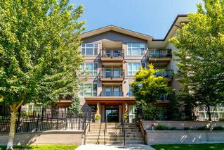 """Photo 1: 418 2343 ATKINS Avenue in Port Coquitlam: Central Pt Coquitlam Condo for sale in """"The Pearl"""" : MLS®# R2405860"""