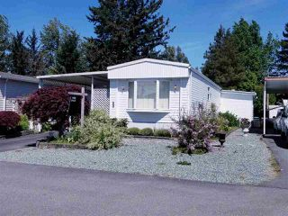 "Main Photo: 33 31313 LIVINGSTONE Avenue in Abbotsford: Abbotsford West Manufactured Home for sale in ""Paradise Park"" : MLS®# R2428025"