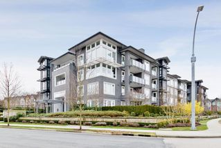 "Photo 1: 211 550 SEABORNE Place in Port Coquitlam: Riverwood Condo for sale in ""Fremont Green"" : MLS®# R2432651"