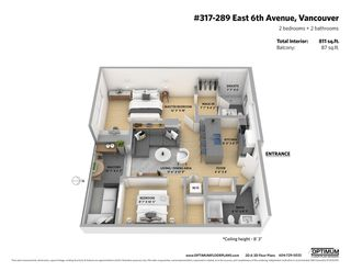 "Photo 19: 317 289 E 6TH Avenue in Vancouver: Mount Pleasant VE Condo for sale in ""SHINE"" (Vancouver East)  : MLS®# R2438872"