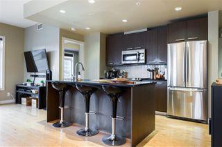 Photo 3: 203 9908 84 Avenue in Edmonton: Zone 15 Condo for sale : MLS®# E4195063