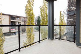 Photo 28: 203 9908 84 Avenue in Edmonton: Zone 15 Condo for sale : MLS®# E4195063