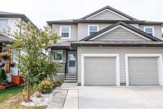 Photo 1: 3716 9 Street in Edmonton: Zone 30 House Half Duplex for sale : MLS®# E4215561