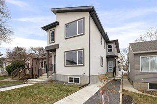 Photo 2: 2 10917 68 Avenue NW in Edmonton: Zone 15 Duplex Front and Back for sale : MLS®# E4180351