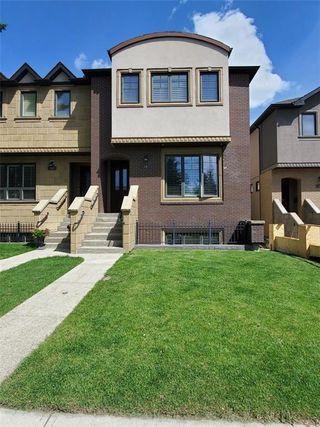 Main Photo: 58 31 Avenue SW in Calgary: Erlton Semi Detached for sale : MLS®# C4301692