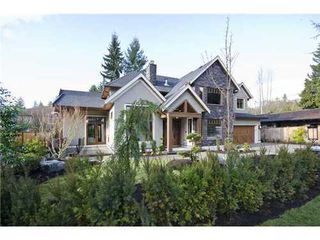 Photo 1: 3959 LEWISTER Road in North Vancouver: Home for sale : MLS®# V978405