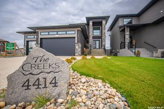 Photo 1: 4414 Wolf Willow Place in Regina: The Creeks Residential for sale : MLS®# SK821278