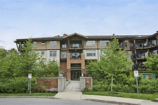 "Main Photo: 102 300 KLAHANIE Drive in Port Moody: Port Moody Centre Condo for sale in ""The Tides at Klahanie"" : MLS®# R2429681"