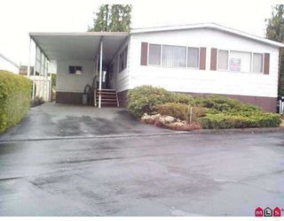 "Photo 1: 34 8254 134 ST in Surrey: Queen Mary Park Surrey Manufactured Home for sale in ""Westwood Estates"" : MLS®# F2520342"